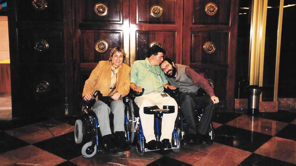 De izq. a dcha. Rosa Segrelles, Alejandro R. Picavea y Javier Romañach.
