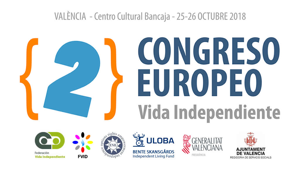 Segundo Congreso Europeo sobre Vida Independiente