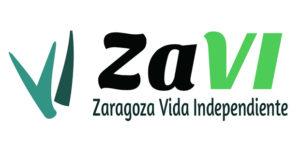 Logotipo de Zaragoza Vida Independiente (ZAVI)