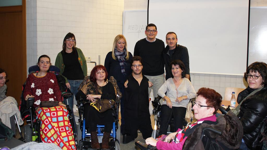 Miembros de Zaragoza vida independiente (ZAVI)